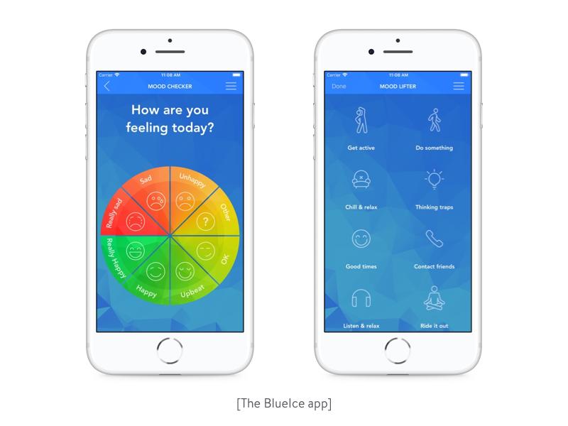 the blueIce app