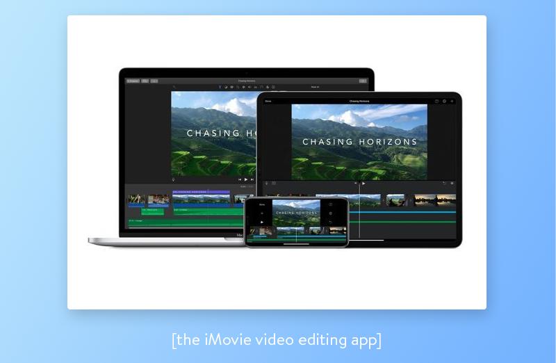 imovie video editing app