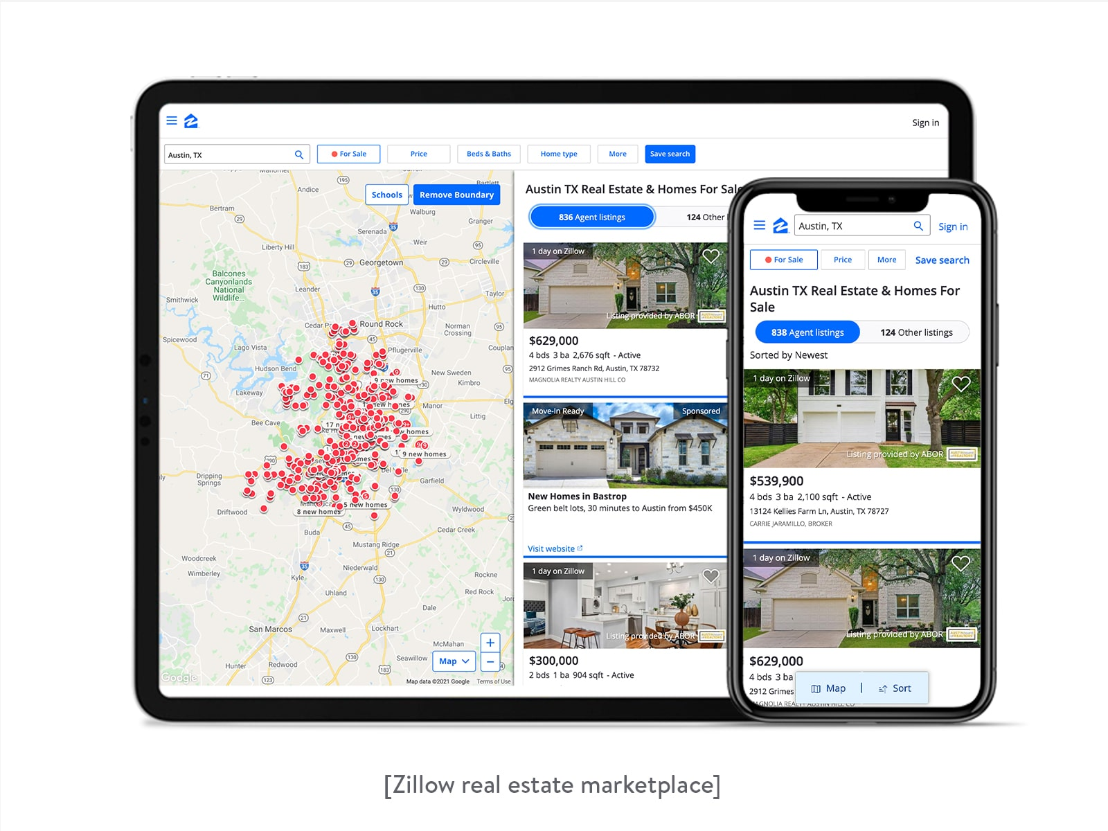 zillow real estate marketplace