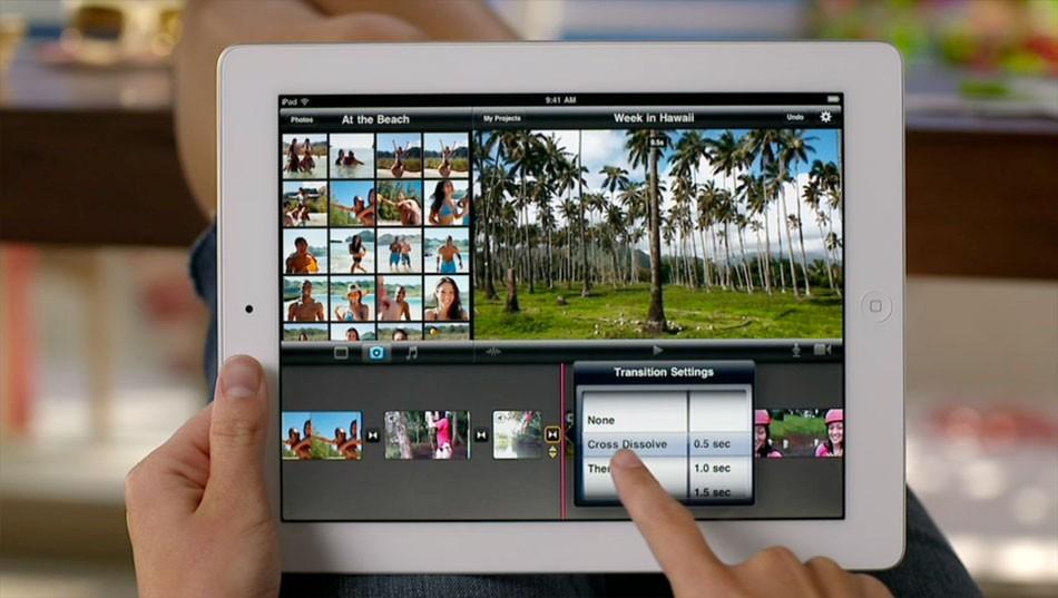 iMovie video app development