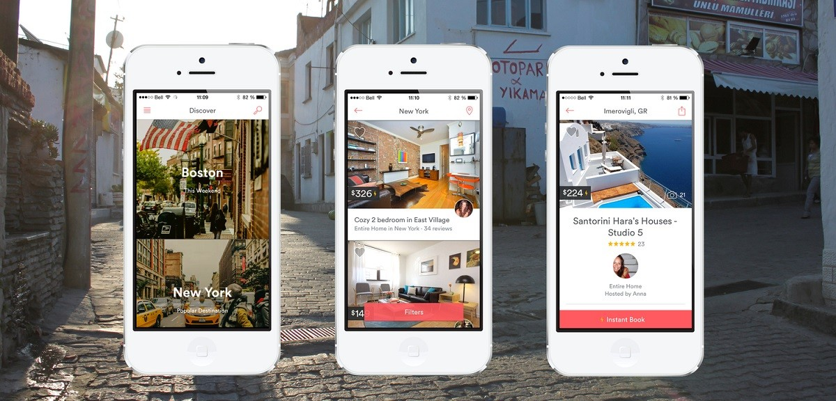 Airbnb app technology