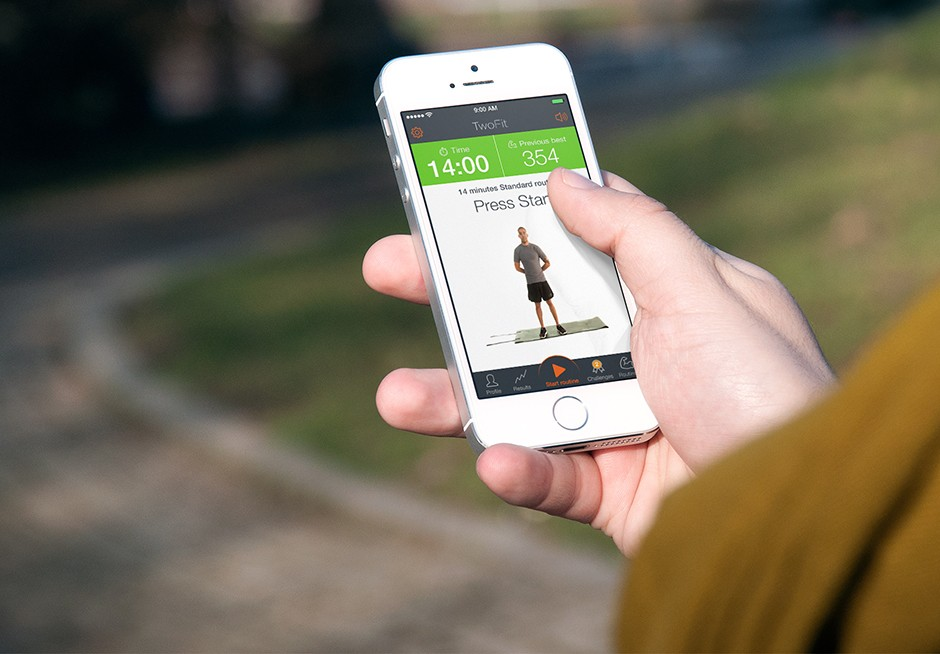 TwoFit fitness app