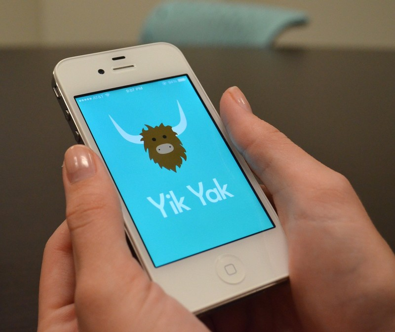 Yik Yak - a popular anonymous social app and its smart marketing lifehacks
