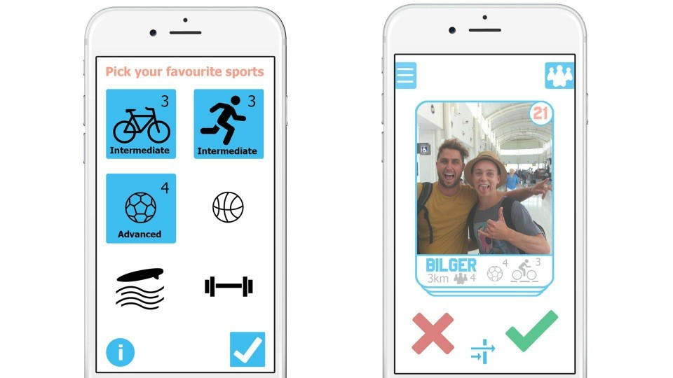 Teamster social fitness app