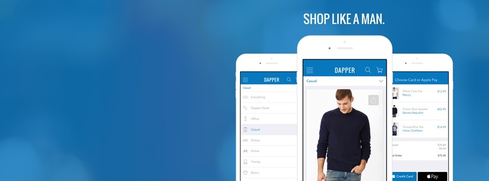 Dapper shopping app